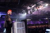 """Auf der Republica 2016 hält Sascha Lobo die Rede """"The Age of Trotzdem"""""""