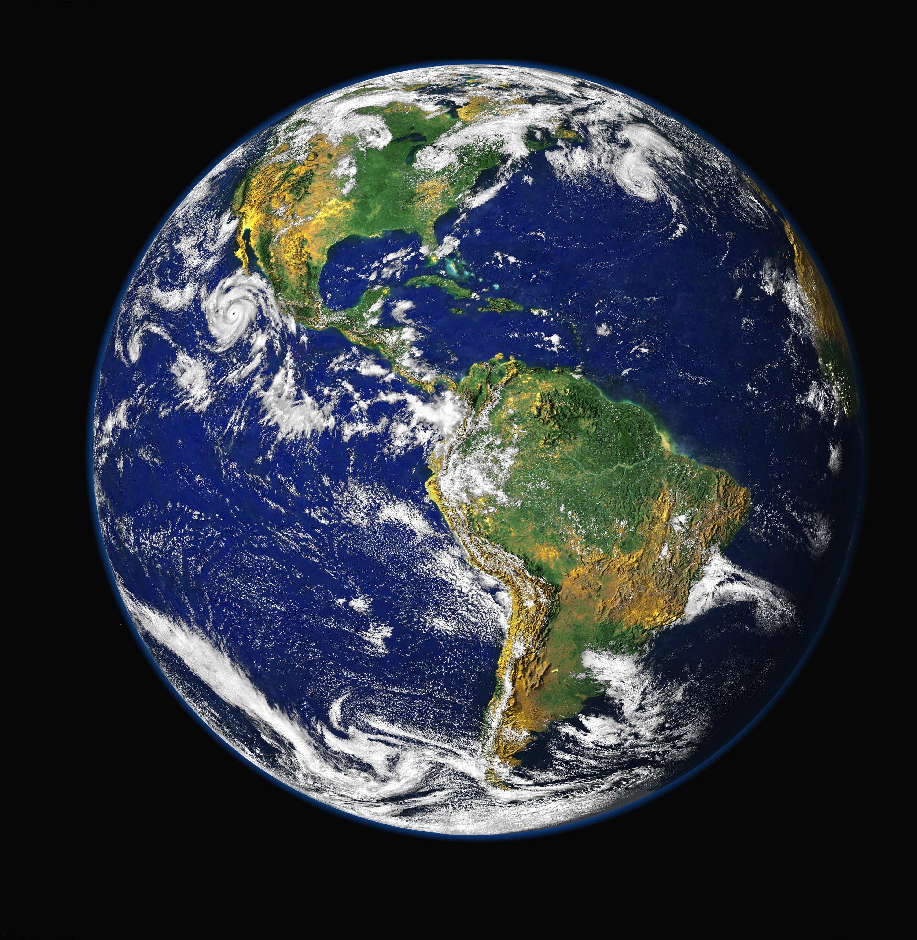 """Blue Marble"". Foto: NASA/ GSFC/ NOAA/ USGS (Public domain)"