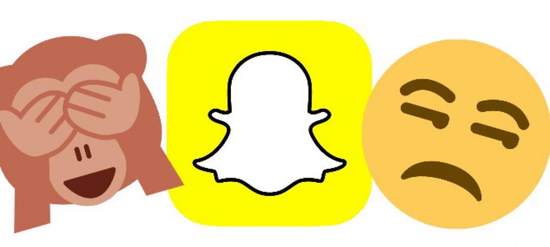 Emojis sind mürrisch wegen Snapchat. Foto: Twitter (CC BY 4.0)